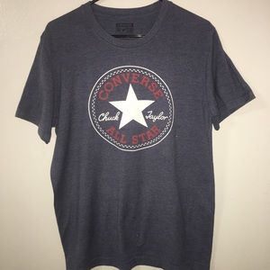Converse core chuck patch blue T-shirt